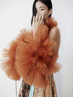 "midnight-charm: ""  Liang Xian photographed by Helen Eriksson for Nasty Magazine Stylist: Lexyrose Boiardo Hair: Kiyo Igarashi Makeup: Toru Sakanishi """