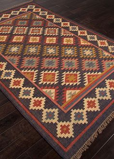 Jaipur Living (formerly Jaipur Rugs) Provides Hand Knotted Rugs Wool Rugs Wool Carpets Tibetan Carpets Shags Natural Fibre Carpets India Rugs online Southwestern Quilts, Southwest Style, Tapete Floral, Discount Area Rugs, Jaipur Rugs, Geometric Rug, Western Decor, Textiles, Rugs Online
