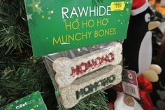 Ho Ho Ho munchy bones! We do Christmas! See our website for details... Live Reindeer, Santa in residence and amazing Christmas displays...