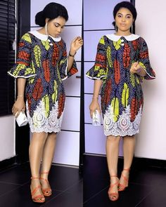 Ankara Short Gown Styles for Smart Ladies Short African Dresses, Ankara Short Gown Styles, African Print Dresses, Ankara Gowns, African Fashion Ankara, Latest African Fashion Dresses, African Print Fashion, Africa Fashion, Chitenge Dresses