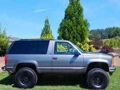 Tahoe 2 Door I Always Wanted One Of These Chevrolet Blazer