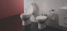 Baño Ferrum Línea Atuel Toilet, Deco, Bathroom, Houses, Household Items, Washroom, Homes, Litter Box, Decoration