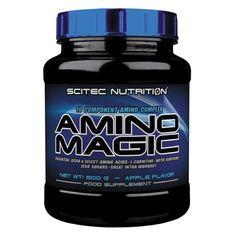 AMINO MAGIC de Scitec es un complejo de aminoácidos de 10 componentes: Matriz especial de aminoácidos anabólicos y ergogénicos #aminoacidos #scitec #culturismoysuplementos #tiendasnutriciondeportiva #nutricionmuscular