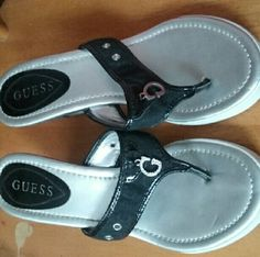 Guess sandals Almost new worn a handful of times Guess Shoes Sandals