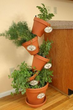 Cool 60 Adorable DIY Container Herb Garden Design Ideas https://roomaniac.com/60-adorable-diy-container-herb-garden-design-ideas/