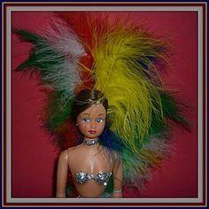 1970's Las Vegas Showgirl Doll -Fiona Originals-Sahara Hotel Souvenir http://www.dollshopsunited.com/stores/dolllighted/items/1299773/1970s-Las-Vegas-Showgirl-Doll-Fiona-Originals-Sahara #dollshopsunited