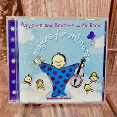 Various Artists - Majors for Minors (Bedtime & Playtime with Bach, for sale online Brain Food For Kids, Songs For Toddlers, Cds For Sale, Various Artists, Bedtime, Kids Meals, Children, Ebay, Kids