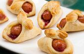 Fancy Pigs in a Blanket. As Pigs in a Blanket go, these are the picks of the litter.