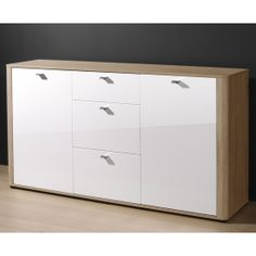 Arielle buffet sideboard in high gloss white sideboards for Arelle ikea