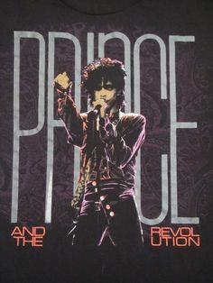 Original PRINCE vintage 1985 tour T SHIRT by rainbowgasoline, $150.00