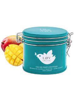 Eau de fruits exotiques   Produit : Eaux de fruits exotiques    Marque : Lov Organic   Prix : 11,60 €