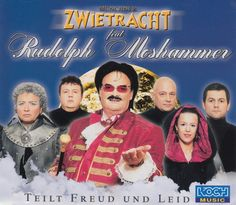 """Teilt Freud and Leid"" performed by Münchner Zwietracht feat. Rudolph Moshammer. German national final 2001. #kurriosum"