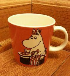 Arabia Finland Moomin Character Moominmamma Mug 1999 MINT CONDITION! LOOK!!