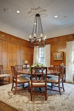 Distinctly English - traditional - Dining Room - New York - Glave & Holmes Architecture