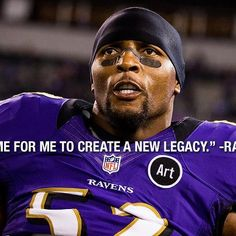 Ray Lewis   same as other, Love to watch him play.