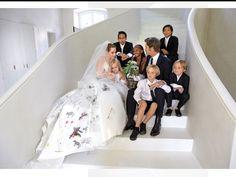 Brad and Angelina's Wedding Day photos