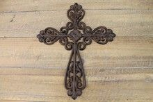 Find Crosses at Indelible Decorative Objects, Candle Sconces, Metal Crosses, Cast Iron, Wall Lights, Rust, Home Decor, Black, Appliques