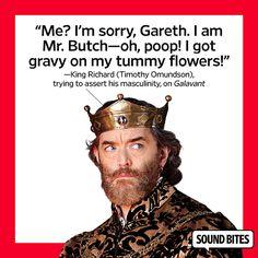 King Richard (Timothy Omundson) on 'Galavant'