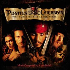 """""""Pirates of the Caribbean: The Curse of the Black Pearl"""" movie soundtrack, 2003."""