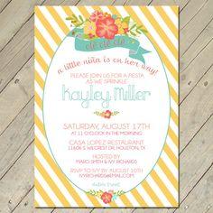 Baby+or+Bridal+Shower+Invitations++Fiesta+Baby+by+OllieAndLulu,+$12.99