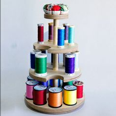 Cotton Reel Carousel by Marianni New Design