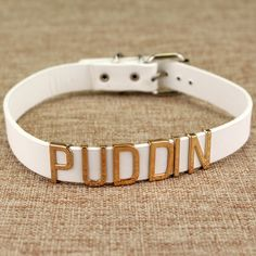 Harley Quinn PUDDIN Choker Suicide Squad Collar Neck Necklace Halloween Cosplay Choker Pop Culture Letter Necklace