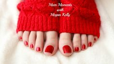 Mom Moments with Megan Kelly shares 3 tips to show your feet some love