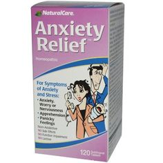 Amazon.com: NaturalCare Homeopathic Anxiety Relief , 120 Sublingual Tablets: Health & Personal Care