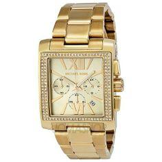 d10fc669ba25 Image detail for -Michael Kors Uptown Glam GIA Chronograph Gold-tone Ladies  Watch .