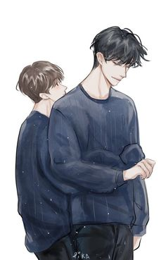 Read 011 from the story Stalker (ChanBaek) by Princess_Yeoldetort (🖤αʆεXα 🖤) with reads. That fanart makes me soft Baekhyun h. Handsome Anime Guys, Cute Anime Guys, Anime Love, Cute Gay Couples, Anime Couples, Cover Wattpad, Chanbaek Fanart, Exo Chanbaek, Chansoo