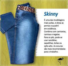 A modelagem skinny realmente é um sucesso. Compõe um dos quatro modelos mais usados entre as amantes de jeans no Brasil e corresponde a 46% deste seleto público. Sem dúvidas é uma das preferidas. E para se tornar ainda mais especial, trouxemos algumas informações importantes e dicas de look's que com certeza, farão diferença.  #UseJeans #ModelagemSkinny #SuperConfortável #Descolada #Fashion #Linda #VocêNaModa #Biotipo #SKNJ #SimplesAssim  CALÇA SKINNY BIOTIPO - Ref. 17679 - Tam. 36  Skinni…