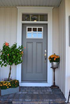 The 1829 Farmhouse Curb Appeal, Entrance, Home Improvement, Garage Doors, Farmhouse, Outdoor Decor, Colors, Home Decor, Ideas