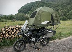 The MoBed Motorcycle Tent 5 Motorcycle Tent, Motorcycle Campers, Motorcycle Adventure, Vstrom 1000, Bike Motor, 1200 Gs Adventure, Karts, Camping Gear, Tent Camping Beds