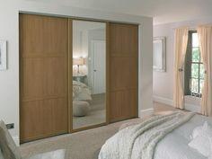 48 Ideas Bedroom Wardrobe Ideas Mirror Closet Doors For 2019 Bedroom Closet Doors, Wardrobe Design Bedroom, Bedroom Cupboards, Modern Wardrobe, Mirror Bedroom, Bedroom Decor, Bedroom Ideas, Closet Mirror, Small Wardrobe