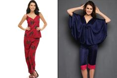 The comfortable pajama sets are always an important part of the bridal trousseau. These are probably the most preferred nightwear option for a bride. Bridal Nightwear, Dressing Sense, Different, Pajama Set, Must Haves, Wedding Shopping, Jumpsuit, Night Wear, Bride