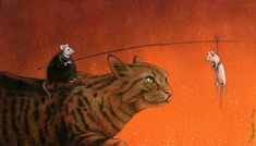 Art by Pawel Kuczynski.... really gets you thinking.It has been said a picture is worth a thousand words, the conception that a complex idea can be conveyed with just a single image. The illustrations here provoke deep thought about how the world system and the status quo are deeply flawed in th…
