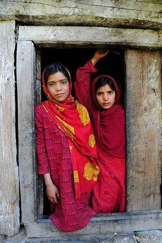 Naranag village in Kashmir, India