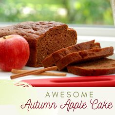 Cinnamon and apple flavors unite in this delicious and easy quick bread recipe. Prepare as a loaf or see the alternative instructions below to make muffins – perfect for back-to-school lunches or a quick snack. Gluten Free Quick Bread, Quick Bread Recipes, Gluten Free Flour, New Recipes, Better Batter, Quick Snacks, School Lunches, Apple Cake, Cinnamon
