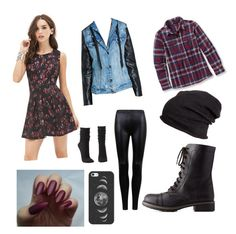"""#1 casual"" by draegan on Polyvore featuring Forever 21, Patagonia, BLANKNYC, H&M, Charlotte Russe and Casetify"