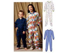 Girl Patterns - Kwik Sew Pajamas Pattern