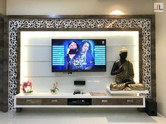 Modern TV unit designs unit partition TV unit design for living room 2019 Modern Tv Unit Designs, Living Room Tv Unit Designs, Ceiling Design Living Room, Room Door Design, Hall Design, Bedroom Tv Unit Design, Tv Unit Interior Design, Tv Unit Furniture Design, Hall Interior