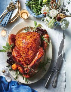 KAH says: Sweet-and-Spicy Roast Turkey Recipe