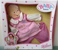 Baby Born - Bekleidungsset -  Trägerrockshirt,Shirt,Leggins-Zapf Creation ****** in Spielzeug, Puppen & Zubehör, Babypuppen & Zubehör   eBay!