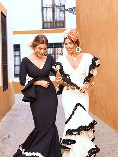 Catrina Costume, Brand Icon, Flamenco Dancers, Spanish Fashion, Bridesmaid Dresses, Wedding Dresses, Special Occasion Dresses, Formal Wear, Peplum Dress