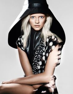 Ginta Lapina by Benjamin Lennox for Muse Magazine Spring/Summer 2012