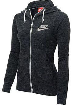 Rock some old-school style in the @nikewomen Gym Vintage full-zip hoodie! #GiftOfSport