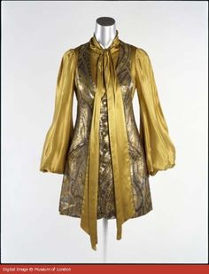 Gold Biba Dress 1969