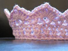 INSTANT DOWNLOAD Crochet Crown PATTERN by BabyHookedBoutique