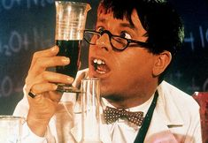 As the Nutty Professor Jerry Lewis