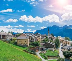 Guarda, Switzerland - 22 Postcard-Perfect European Villages Straight Out of a Fairytale | Travel + Leisure